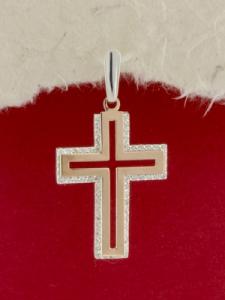 Сребърен кръст - P0241.20