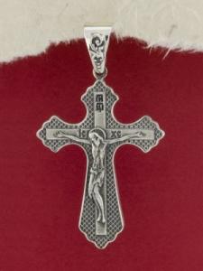Сребърен кръст - P0297.10