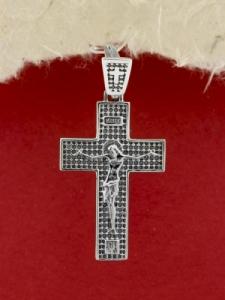 Сребърен кръст - P7044.10