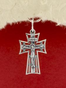 Сребърен кръст - P7056.10