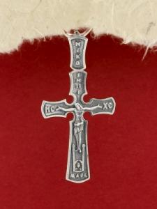 Сребърен кръст - P7064.10