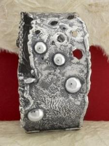 Сребърна твърда гривна - SB36A