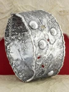 Твърда сребърна гривна - SB36