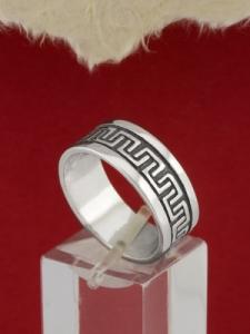 Сребърен пръстен- халка - R103