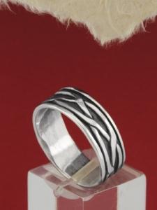 Сребърен пръстен - R111