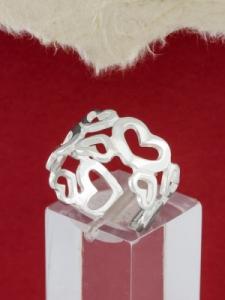 Сребърен пръстен - R114