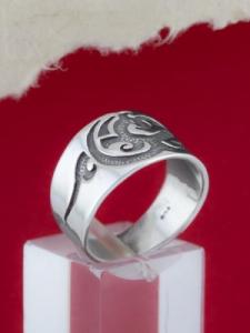 Сребърен пръстен - R156