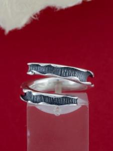 Сребърен пръстен - R187