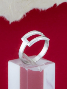Сребърен пръстен - R214