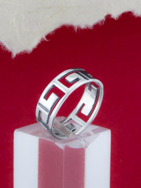 Сребърен пръстен - R222