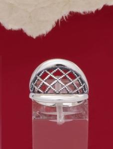 Сребърен пръстен - R228