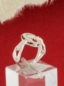 Сребърен пръстен - R1081S
