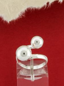 Сребърен пръстен  - RH011-AS