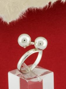 Сребърен пръстен - RH011-BS