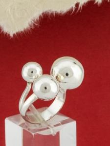 Сребърен пръстен - RH012S