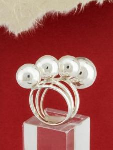 Сребърен пръстен - RH014S