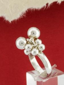 Сребърен пръстен - RH015S