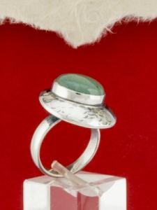 Сребърен пръстен - RK3 - Авантюрин