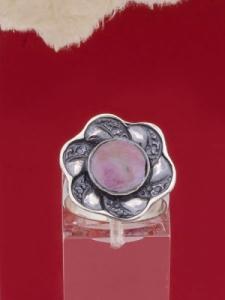 Сребърен пръстен - RK41- Родонит