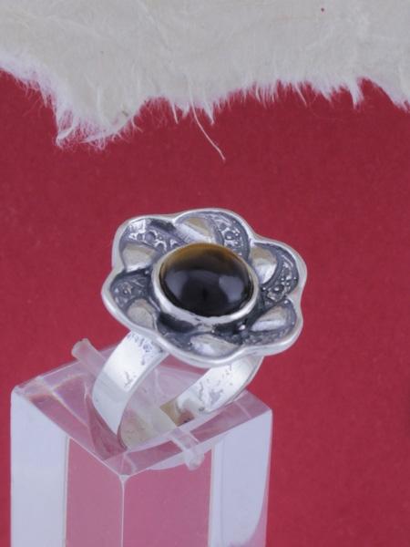 Сребърен пръстен - RK41 - Тигрово Око