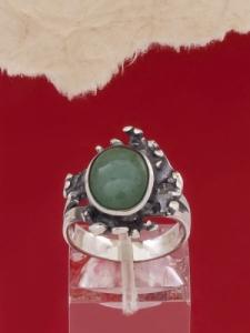 Сребърен пръстен - RK75A - Авантюрин
