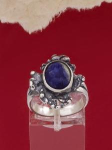 Сребърен пръстен - RK75A - Лазурит