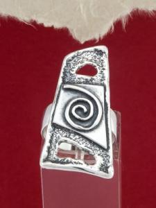 Сребърен пръстен RK13