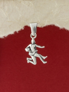 Сребърен медальон - P352