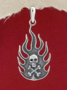 Сребърен медальон - P342