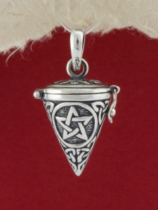 Сребърен медальон - P345