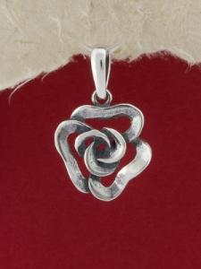Сребърен медальон - P347