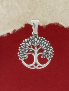 Сребърен медальон - P349