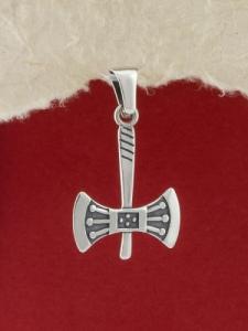 Сребърен медальон - P356