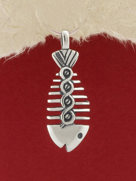 Сребърен медальон - P378