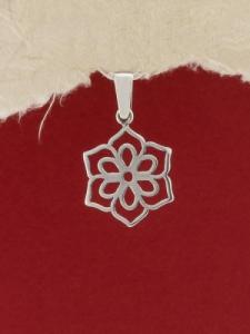 Сребърен медальон - P399
