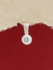 Сребърен медальон - P401