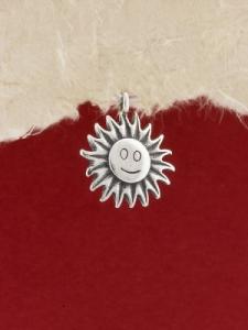 Сребърен медальон - P402