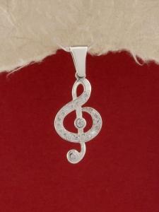 Сребърен медальон - P403