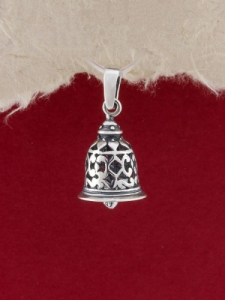 Сребърен медальон - P408