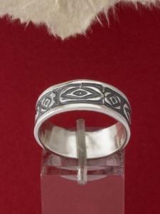 Сребърен пръстен - R102