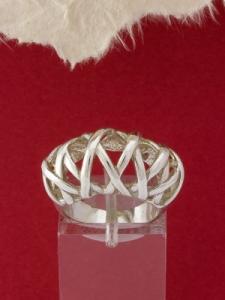 Сребърен пръстен - R126