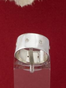 Сребърен пръстен - R157CZ