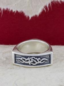 Сребърен пръстен - R339
