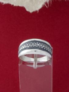 Сребърен пръстен - R341