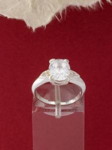 Сребърен пръстен - R352