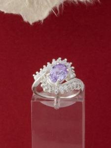 Сребърен пръстен - R362