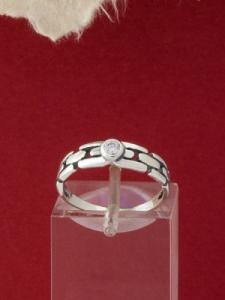 Сребърен пръстен - R381