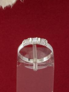 Сребърен пръстен - R402