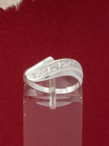 Сребърен пръстен - R405
