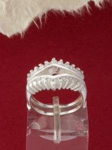 Сребърен пръстен - R408